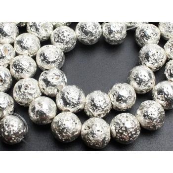 Бусины Лава (серебро)